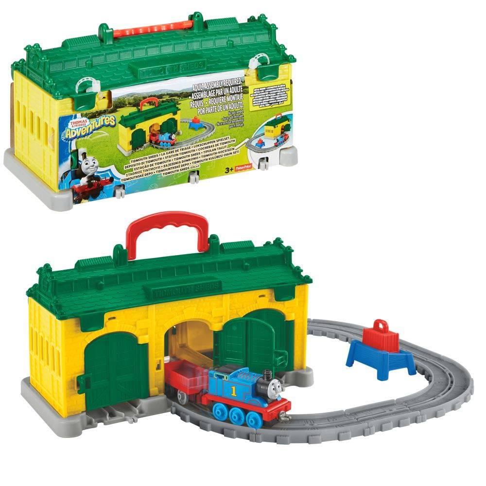 Thomas & Friends Adventures Tidmouth Sheds Portable Play Set
