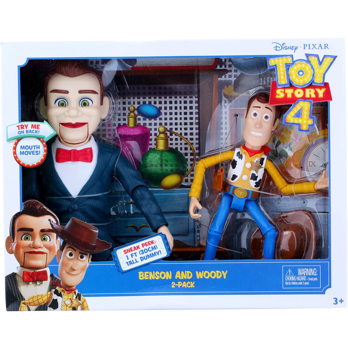 Toy Story 4 Benson and Woody Figures 2-Pack