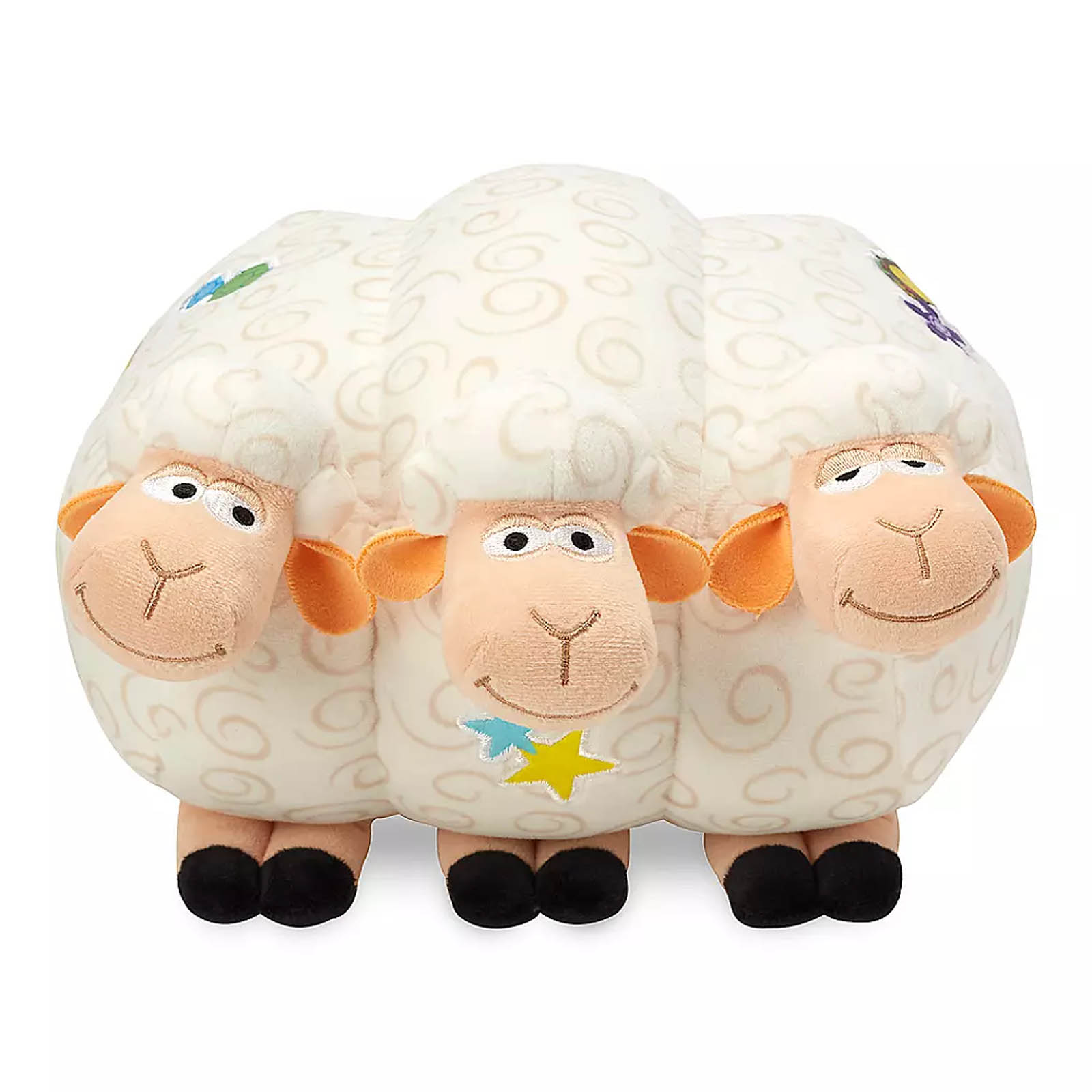 Disney Toy Story 4 Bo Peep Billy, Goat, and Gruff Plush Soft Toy