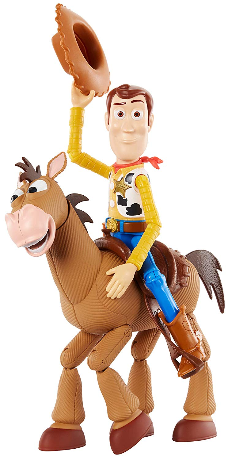 Toy Story 4 Woody and Bullseye Adventure Pack Action Figures