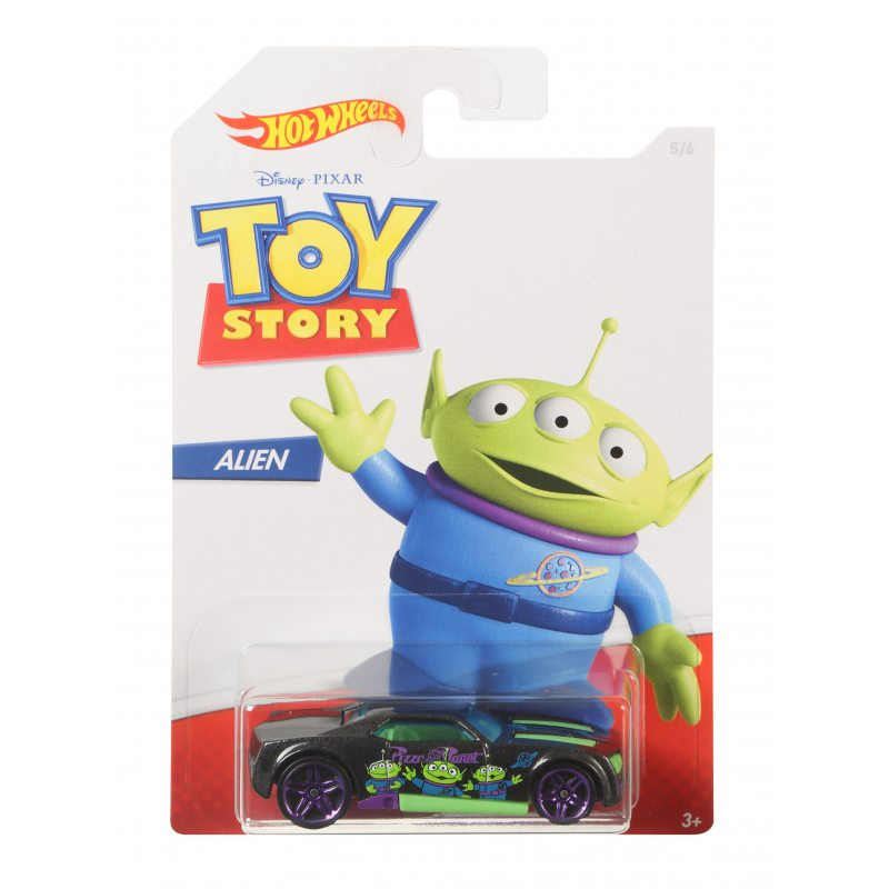 Hot Wheels Toy Story Vehicle Alien - Bully Goat
