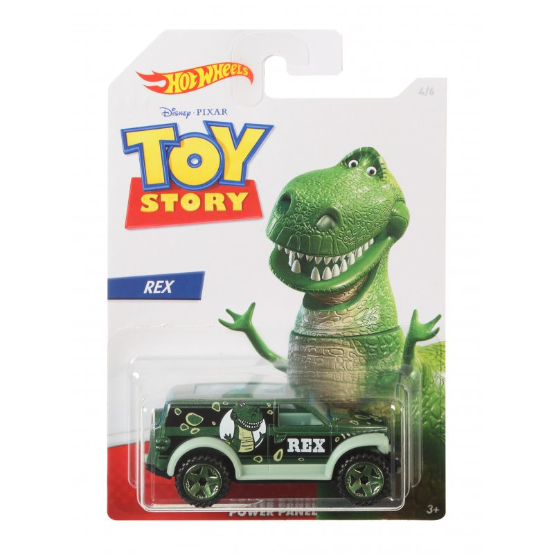 Hot Wheels Toy Story Vehicle Rex - Power Panel