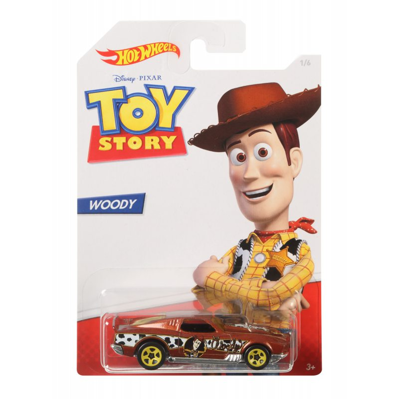 Hot Wheels Toy Story Vehicle Woody Blvd. Bruiser