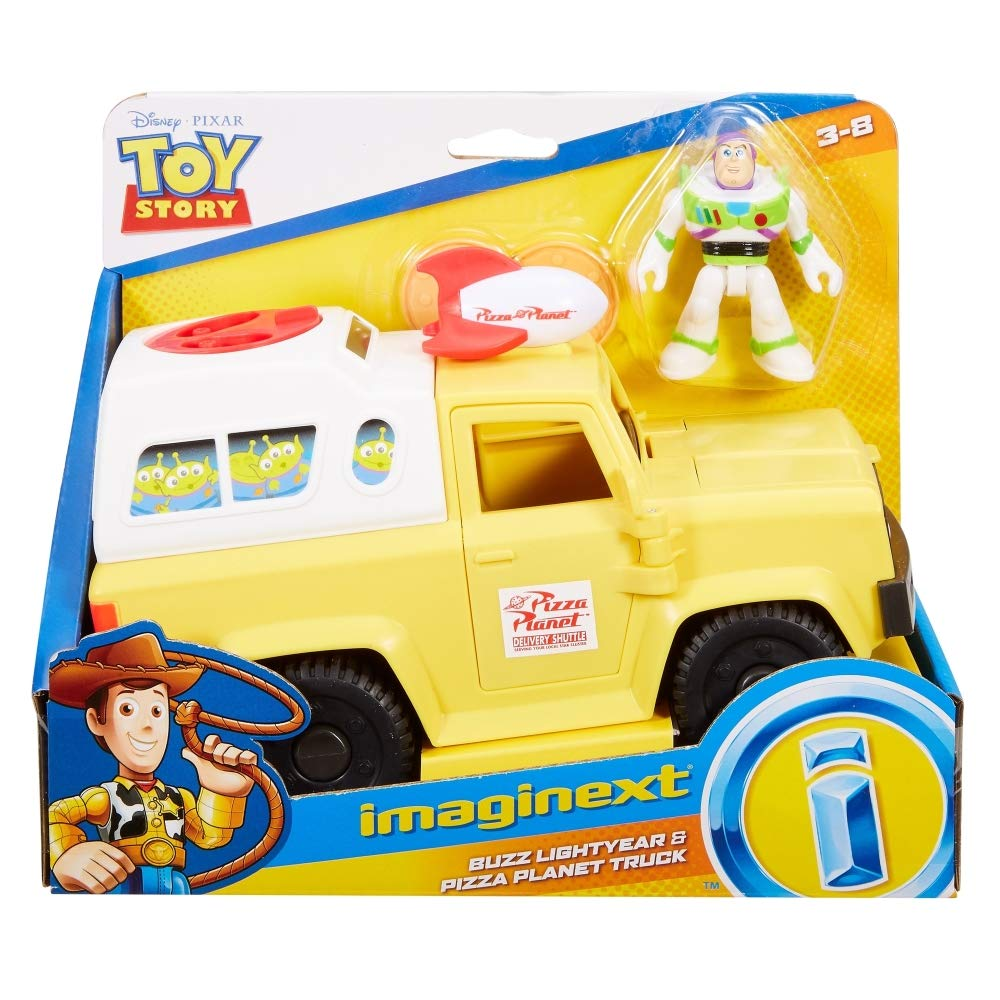 Fishe-Price Imaginext Toy Story Buzz Lightyear & Pizza Planet