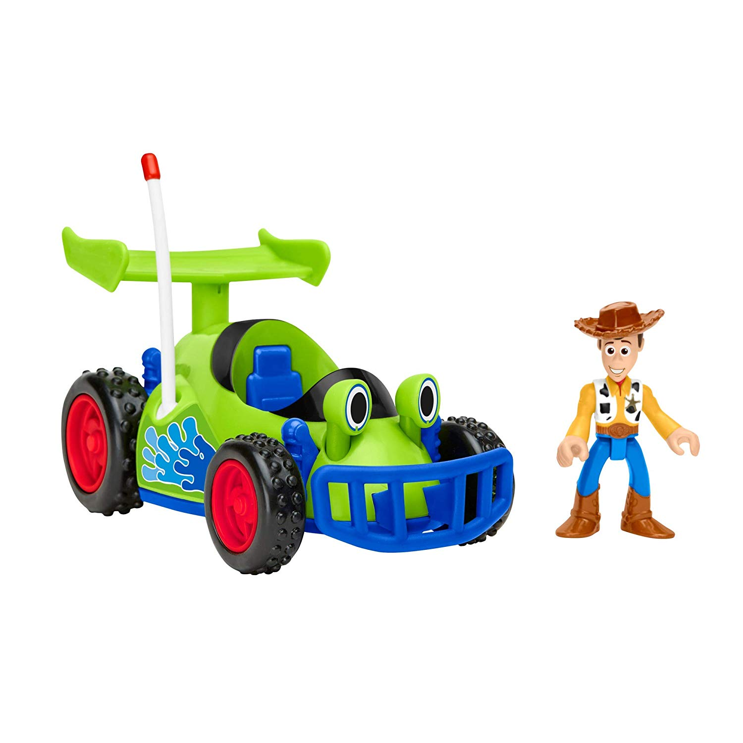 Fisher-Price Imaginext Toy Story Woody & R.C.