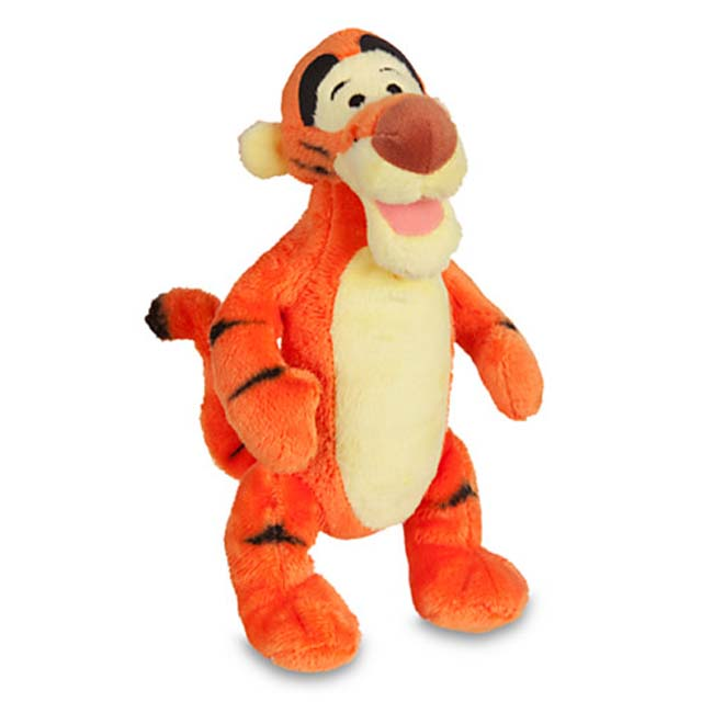 Disney Winnie the Pooh Mini Bean Bag Tigger Plush Soft Toy 23cm